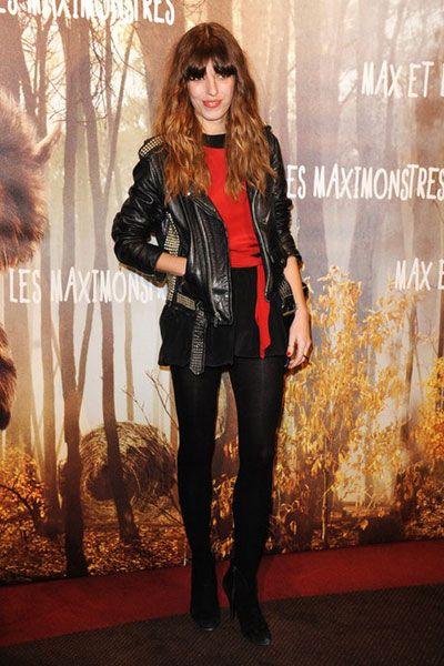 Outerwear, Style, Fashion accessory, Fashion, Jacket, Street fashion, Fashion model, Leather jacket, Leather, Blond,