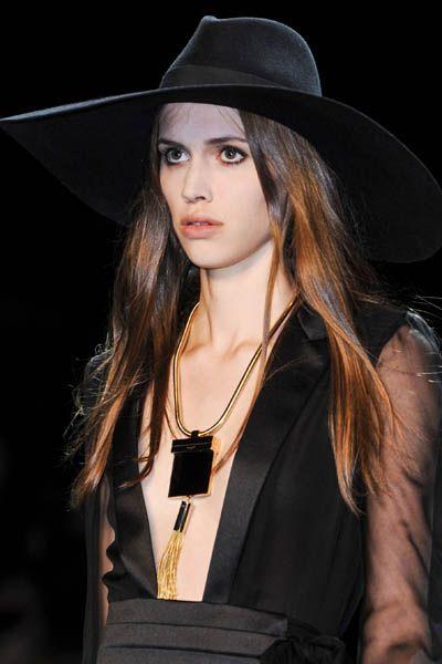 Clothing, Lip, Hat, Fashion accessory, Headgear, Costume accessory, Fashion, Long hair, Jewellery, Black hair,