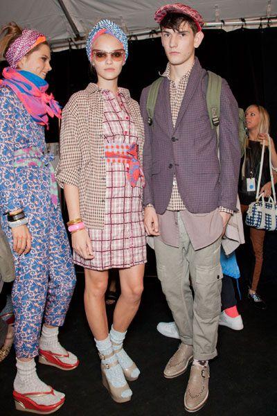 Footwear, Trousers, Shoe, Shirt, Textile, Outerwear, Style, Pattern, Headgear, Fashion accessory,