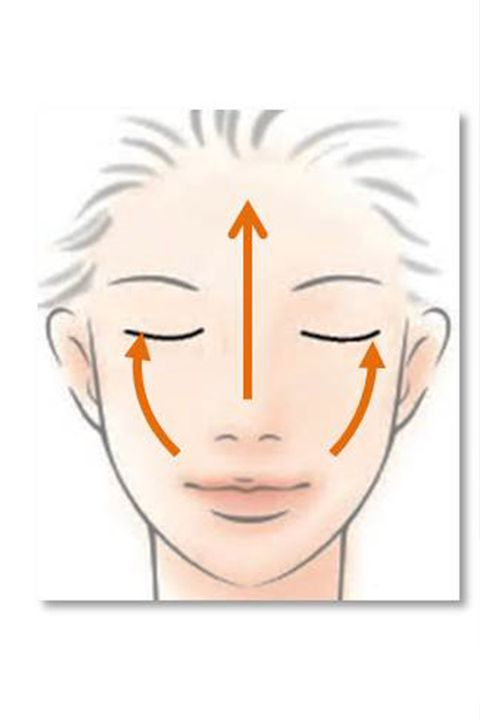 Cheek, Chin, Forehead, Eyebrow, Jaw, Iris, Organ, Orange, Line art, Drawing,