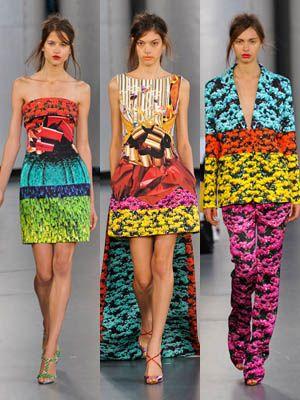 Yellow, Green, Shoulder, Joint, Pattern, Style, Orange, Waist, Fashion, One-piece garment,