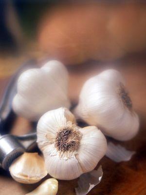 Garlic, Ingredient, White, Natural foods, Elephant garlic, Close-up, Bolete, Produce, Still life photography, Whole food,