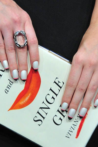 Finger, Hand, Nail, Jewellery, Thumb, Wrist, Peach, Ring, Material property, Nail care,