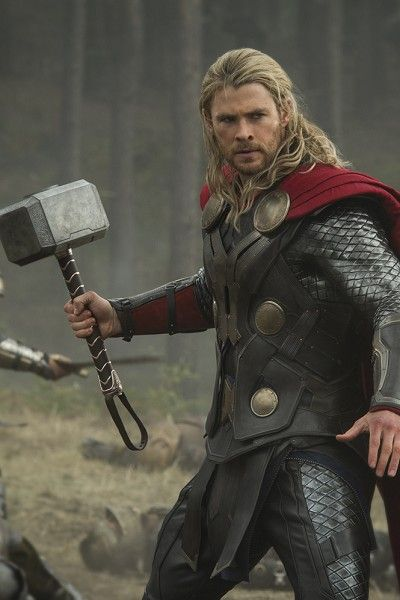 Armour, Costume, Fictional character, Glove, Thor, Facial hair, Axe, Tool, Tights, Viking,