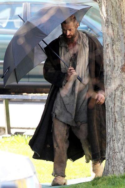 Trunk, Costume, Cloak, Beard, Overcoat, Mantle, Umbrella,