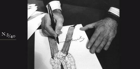Finger, Wrist, Hand, Nail, Artwork, Thumb, Black-and-white, Paper, Line art, Writing,
