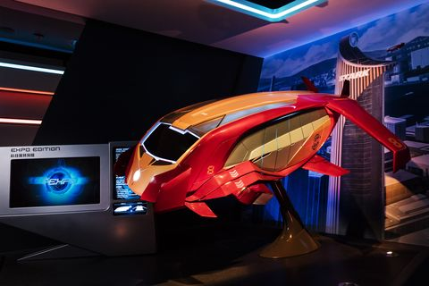 Automotive design, Display device, Concept car, Flat panel display, Auto show, Led-backlit lcd display, Computer hardware, Personal computer hardware, Exhibition, Multimedia,
