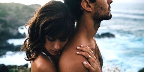 Romance, Love, Interaction, Black hair, Organism, Muscle, Fun, Vacation, Hand, Photography,