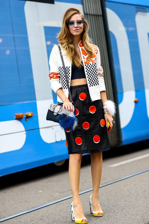Clothing, Shoe, Dress, Human leg, Outerwear, Bag, Fashion accessory, Collar, Style, Electric blue,