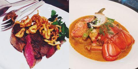 Food, Ingredient, Cuisine, Dish, Meat, Tableware, Recipe, Culinary art, Garnish, Stew,