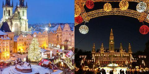 City, Architecture, Night, Public space, Landmark, Holiday, Winter, Midnight, Christmas decoration, Metropolis,