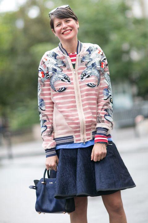 Sleeve, Collar, Textile, Outerwear, Cap, Street fashion, Style, Pattern, Waist, Fashion,