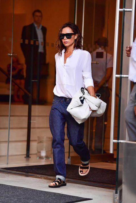 Clothing, Eyewear, Vision care, Leg, Product, Brown, Trousers, Sunglasses, Shoulder, Denim,