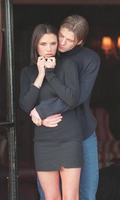 Human body, Shoulder, Interaction, Thigh, Love, Romance, Flash photography, Hug, Tights, Pocket,