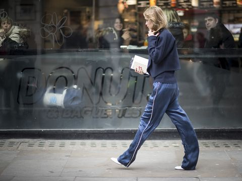 Denim, Jacket, Street fashion, Snapshot, sweatpant, Pocket, Active pants,