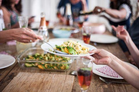 Dishware, Cuisine, Tableware, Food, Hand, Plate, Dish, Table, Meal, Drink,