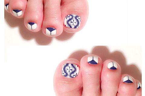 Blue, Finger, Skin, Nail polish, Nail care, Nail, Manicure, Red, Cosmetics, Azure,