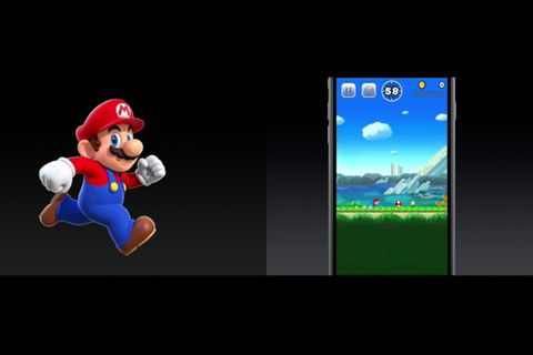 Mario, Display device, Animated cartoon, Fictional character, Animation, Technology, Flat panel display, Portable communications device, Multimedia, Communication Device,