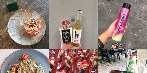 Cuisine, Bottle, Food, Ingredient, Drink, Glass bottle, Tableware, Dishware, Dish, Recipe,