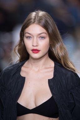 Clothing, Lip, Cheek, Mouth, Hairstyle, Forehead, Eyebrow, Style, Eyelash, Beauty,
