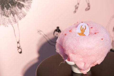 Pink, Dessert, Ingredient, Cuisine, Sweetness, Natural material, Frozen dessert, Feather,