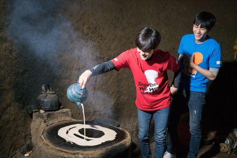 Jeans, Denim, Gas, Smoke, Synthetic rubber,