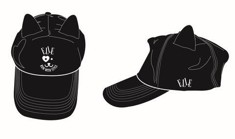 White, Font, Costume accessory, Headgear, Black, Illustration, Graphics, Boot, Brand, Walking shoe,