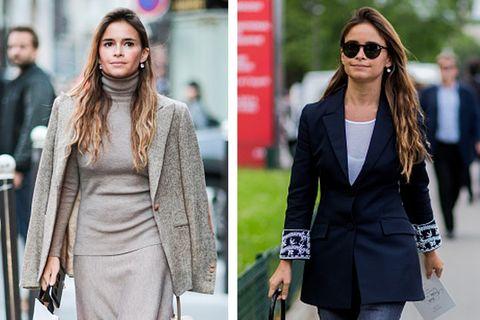 Clothing, Eyewear, Glasses, Sleeve, Collar, Coat, Outerwear, Sunglasses, Street fashion, Style,