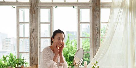 White, Room, Curtain, Interior design, Window treatment, Furniture, Window, Textile, Home, Kitchen,