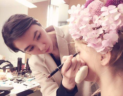 Head, Petal, Eyelash, Flower, Beauty, Hair accessory, Nail, Cut flowers, Artificial flower, Makeover,