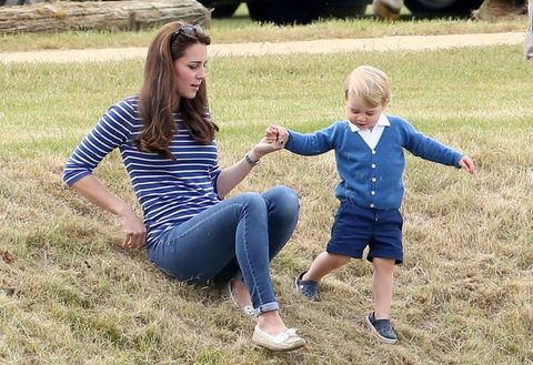 Hair, Grass, People, Jeans, People in nature, Denim, Interaction, Gesture, Baby & toddler clothing, Grass family,