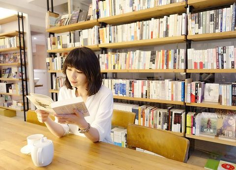 Shelf, Publication, Shelving, Furniture, Bookcase, Library, Book, Education, Collection, Coffee cup,