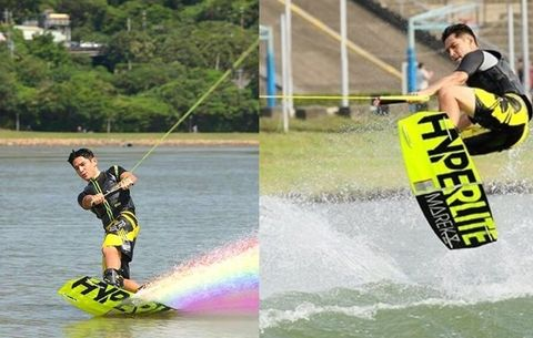 Sports, Surface water sports, Wakeboarding, Towed water sport, Boardsport, Water sport, Waterskiing, Surfing Equipment, Individual sports, Kitesurfing,