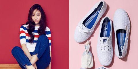 Footwear, Blue, Shoe, White, Knee, Fashion, Electric blue, Denim, Azure, Tan,
