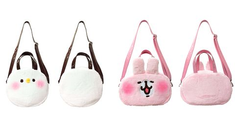 White, Pink, Peach, Oval,