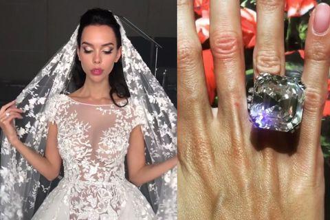 Clothing, Finger, Skin, Dress, Bridal clothing, Style, Nail, Formal wear, Wedding dress, Bride,
