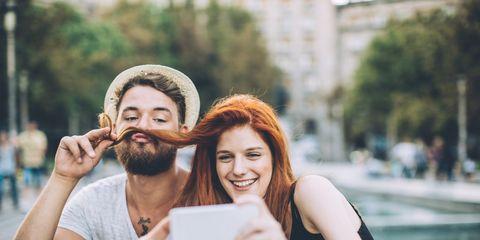 Smile, Eye, Hand, Happy, Hat, Summer, Beard, Moustache, Facial hair, Love,