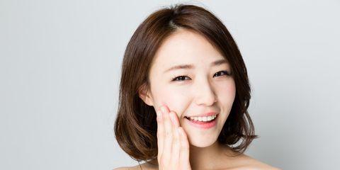Nose, Lip, Cheek, Mouth, Hairstyle, Skin, Chin, Forehead, Shoulder, Eyelash,