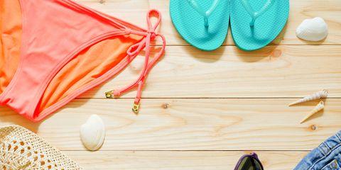 Denim, Natural material, Peach, Kitchen utensil, Pocket,