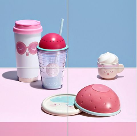 Pink, Ice cream, Frozen dessert, Food, Tableware,