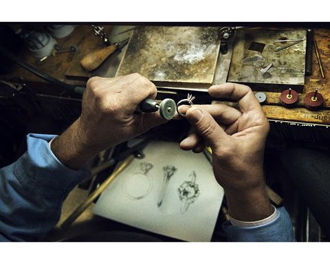 Hand, Bracelet, Paint, Artisan, Mechanic, Revolver,