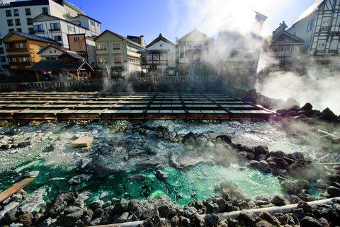 Residential area, Pollution, Suburb, Tsunami,