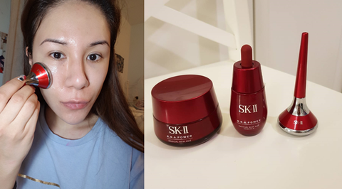 Red, Lip, Cosmetics, Eyebrow, Beauty, Cheek, Nose, Nail polish, Material property, Hair coloring,