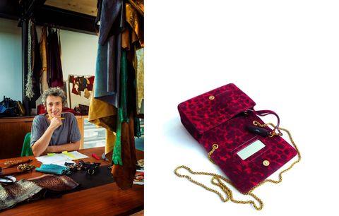 Red, Fashion accessory, Bag, Design, Textile, Handbag, Leather, Travel,