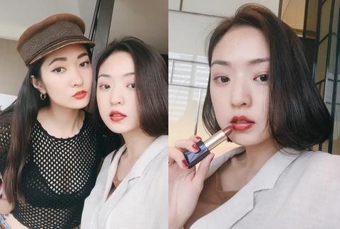 Lip, Hair, Face, Skin, Eyebrow, Beauty, Lipstick, Nose, Fashion, Eye,