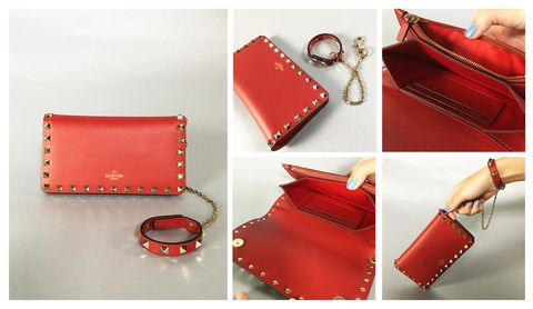 Product, Brown, Red, Textile, Bag, Fashion accessory, Leather, Fashion, Wallet, Maroon,