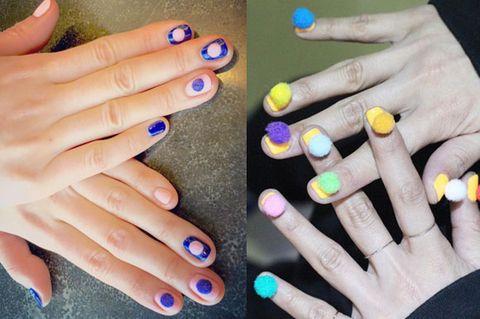 Blue, Finger, Yellow, Skin, Nail, Nail care, Nail polish, Majorelle blue, Manicure, Azure,