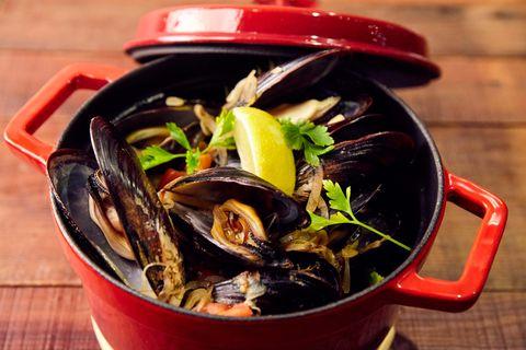 Seafood, Bivalve, Shellfish, Molluscs, Recipe, Invertebrate, Lid,