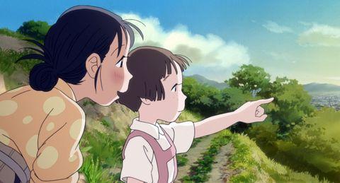Animated cartoon, Cartoon, Anime, Nose, Forehead, Animation, Interaction, Sky, Romance, Fun,
