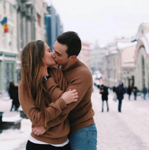 Photograph, Love, Romance, Beauty, Honeymoon, Interaction, Snapshot, Forehead, Cheek, Hug,
